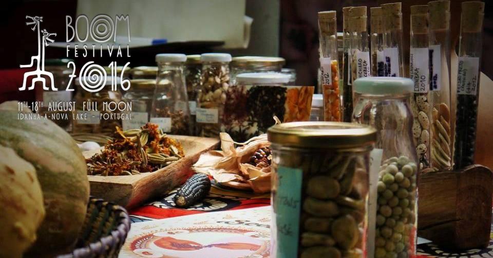 Oficina de recolha e conservação de sementes- Boom Festival