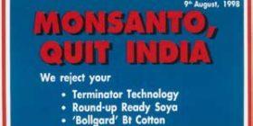 Monsanto Quit India at Allahabad
