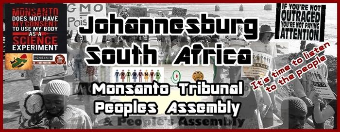 Monstanto Tribunal People's Assembly - Johannesburg