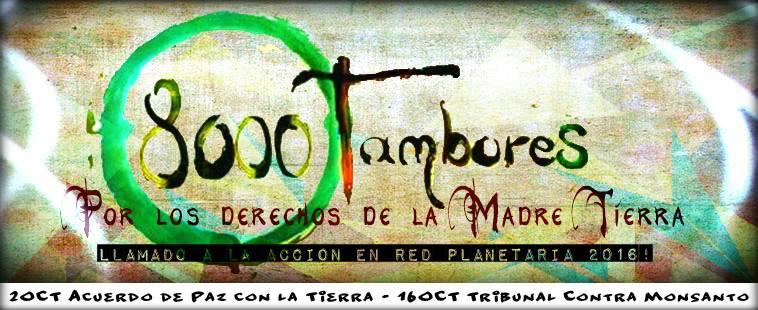 8000 Tambores por los Derechos de la Naturaleza. Tribunal Contra Monsanto