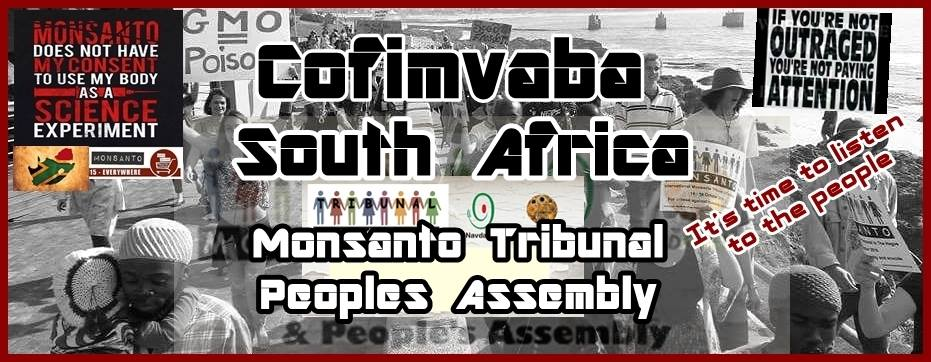Monsanto Tribunal People's Assembly Cofimvaba