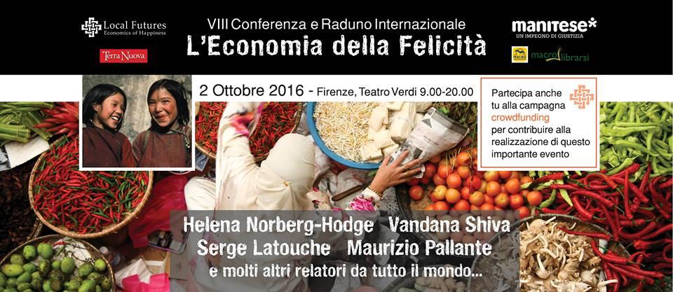 VIII Conferenza e Raduno - L'Economia della Felicità