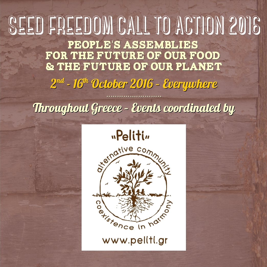 Peliti Crops Festival 2016 & other events coordinated by Peliti