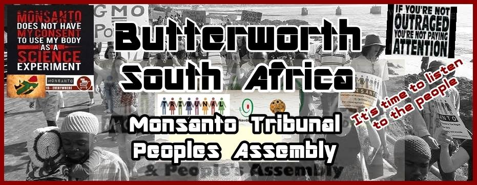Monsanto Tribunal People's Assembly Butterworth