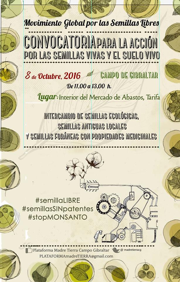Intercambio de semillas ecològicas, semillas antiguas y foràneas