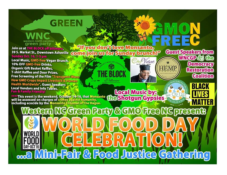 World Food Day Celebration Food Justice Gathering Seed Freedom