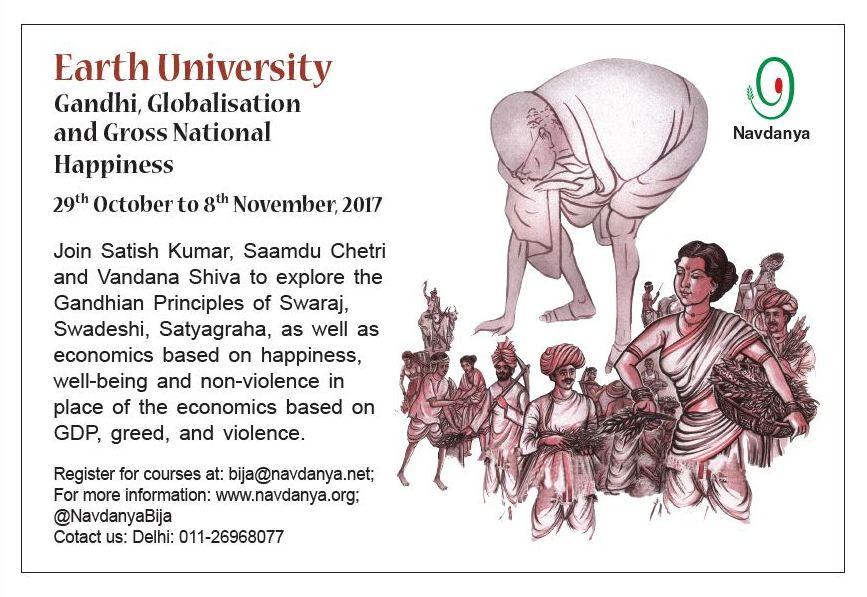 Gandhi, Globalisation & GNH