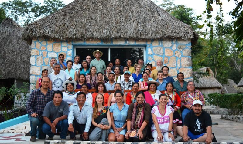 Voices of Maíz meeting in Ek Balam