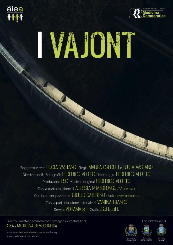 """Documentario """"I Vajont"""" al Festival delle Terre"""