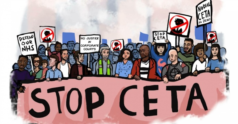 Day of action against CETA