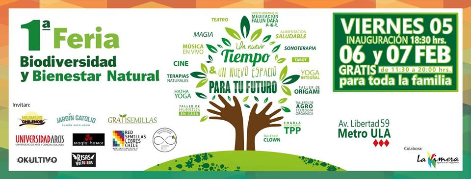 Primera Feria de Biodiversidad y Bienestar Natural 2016.