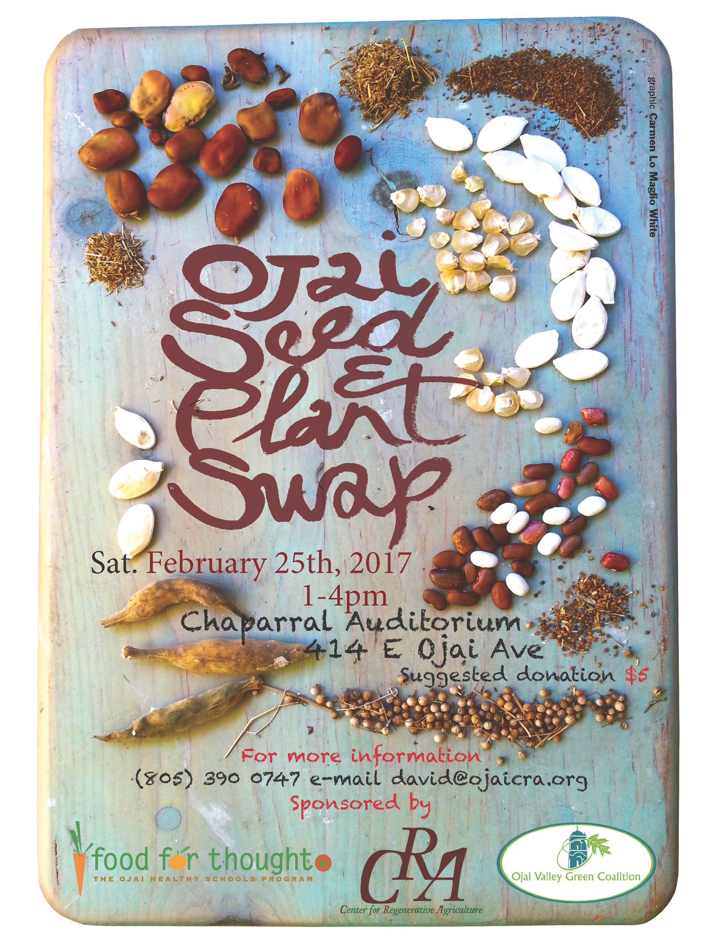 Ojai Seed Swap 2017