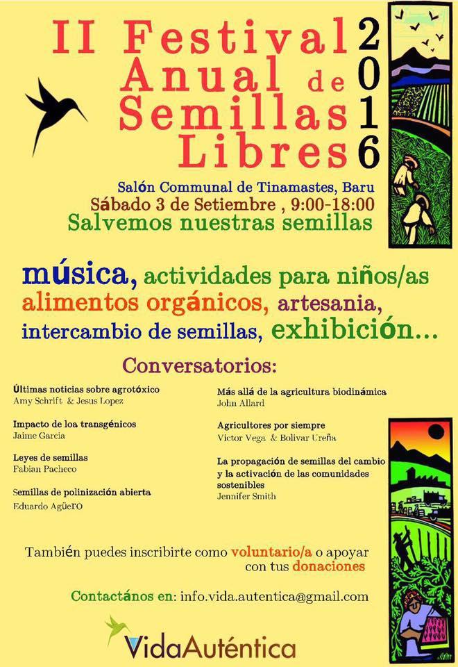 II Festival Anual de Semillas Libres