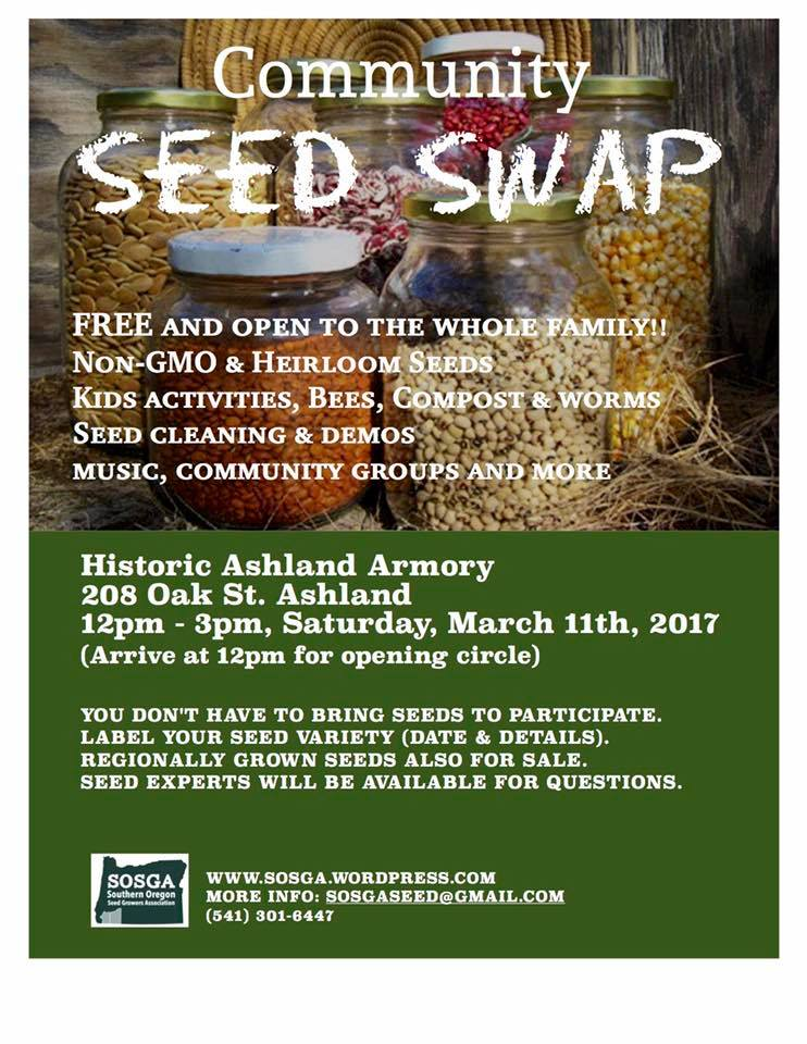 Rogue Valley Seed Swap