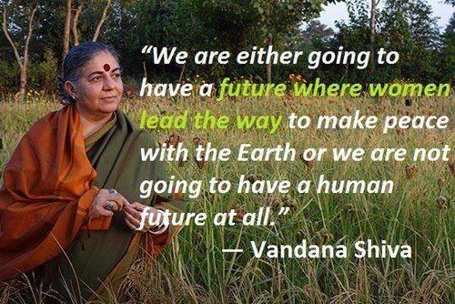 Vandana Shiva at Smith!