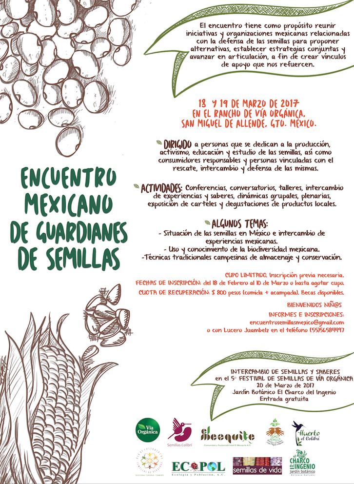 Encuentro Mexicano de Guardianes de Semillas