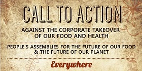 Navdanya Call to Action against the Corporate Takeover of our Food and Health