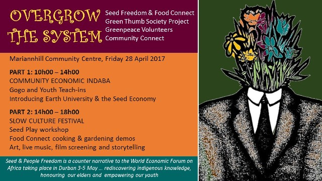 Over Grow the System - Mariannhill, Durban