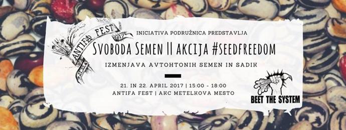 Akcija Svoboda Semen #seedfreedom