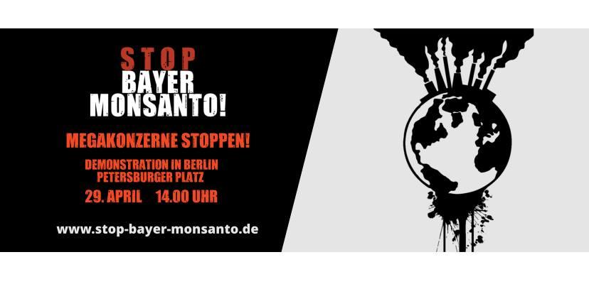 Demonstration: Stop Bayer Monsanto!