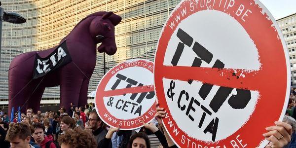 Mobilitiamoci contro il CETA