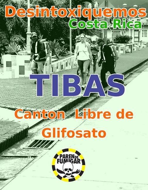 Costa Rica, Tibás: cuarto cantón en declararse libre de glifosato