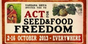 Call to Action for Seed Freedom & Food Freedom 2013