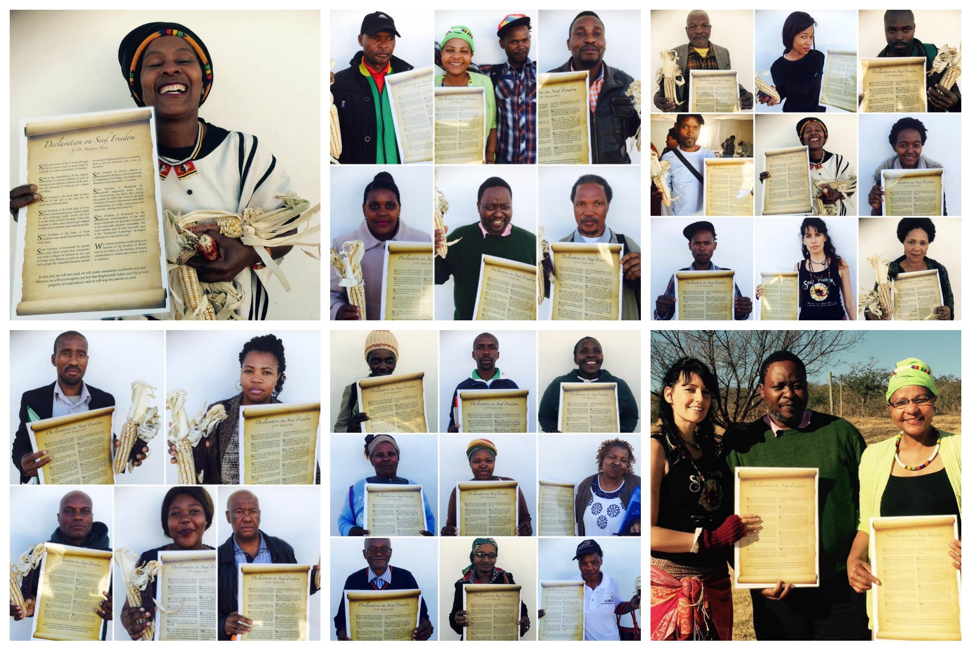 #SeedFreedom Workshops & Pub. Hearings - Opposing the new Plant Breeders & Plant Improvement Act – South Africa