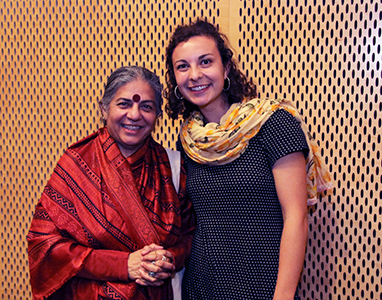 Soil Not Oil: A Public Lecture by Dr. Vandana Shiva