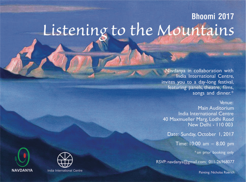 Bhoomi 2017: Listening to the Mountains