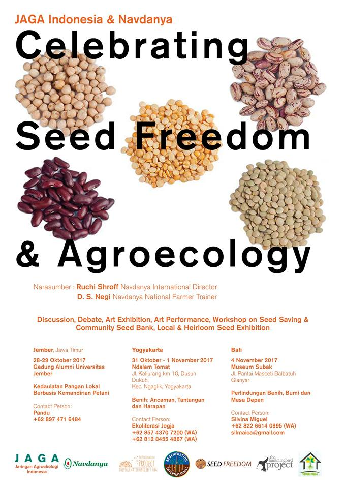 Celebrating Seed Freedom & Agroecology - Jember