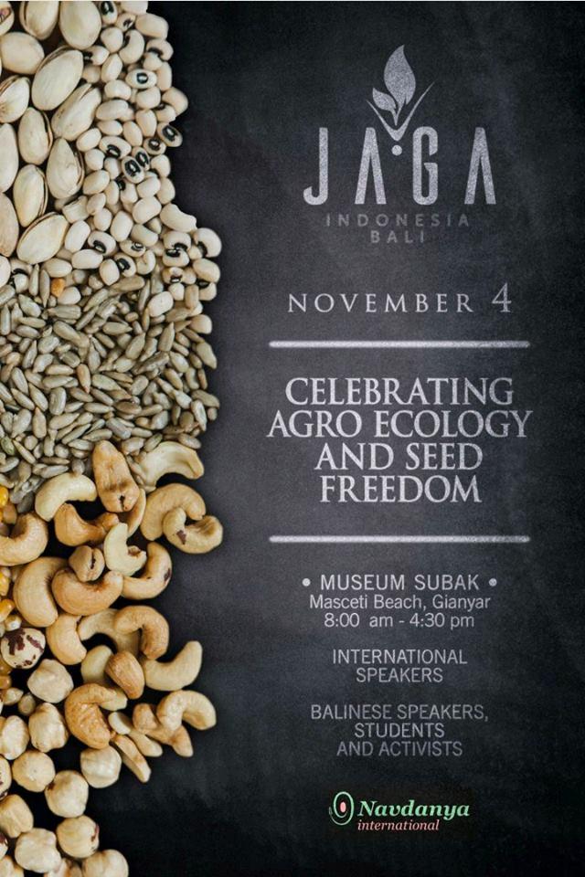 Celebrating Seed Freedom & Agroecology - Bali