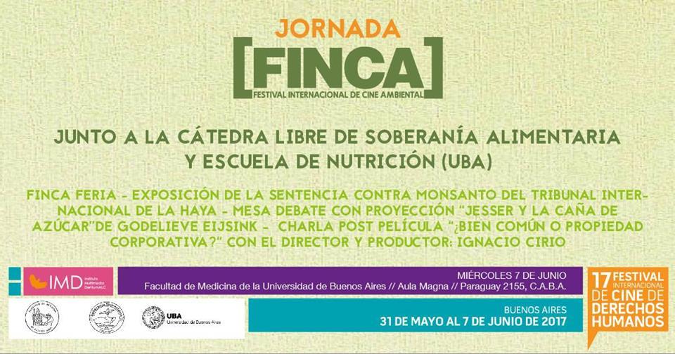 Jornada FINCA junto a la Cátedra Libre de Soberanía Alimentaria