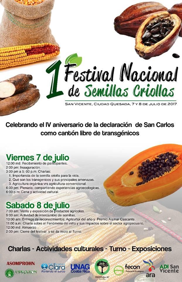1° Festival Nacional de Semillas Criollas