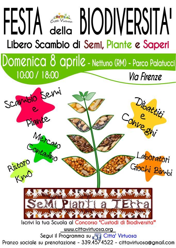 Festa della Biodiversità-Libero Scambio di Semi, Piante e Saperi
