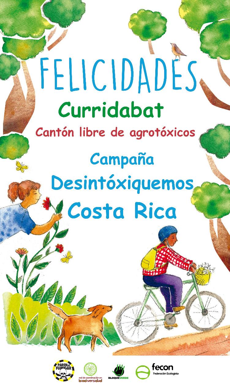 Curridabat se suma a lista de cantones que se declaran libres de agrotóxicos
