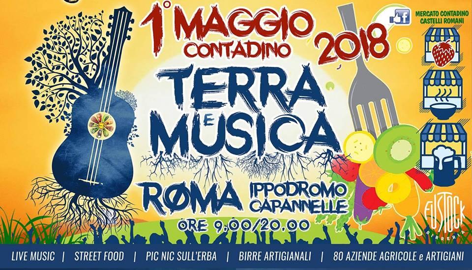 TERRA e Musica primo maggio contadino 2018