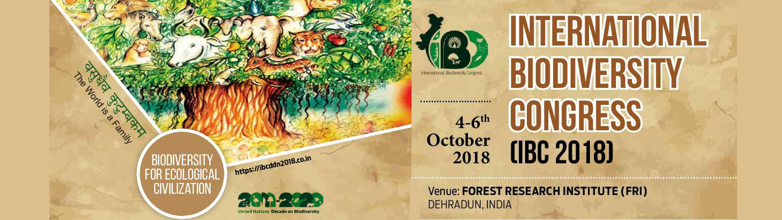 INTERNATIONAL BIODIVERSITY CONGRESS