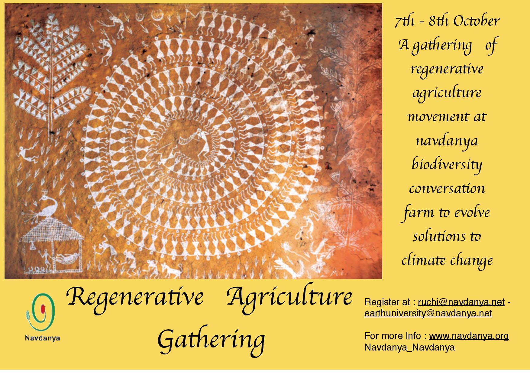 Regenerative Agriculture Gathering