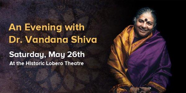 An Evening with Dr. Vandana Shiva