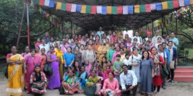 Farmers gathering at Navdanya's Biodiversity Celebration