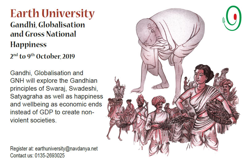 Gandhi Globalisation and Gross National Happiness