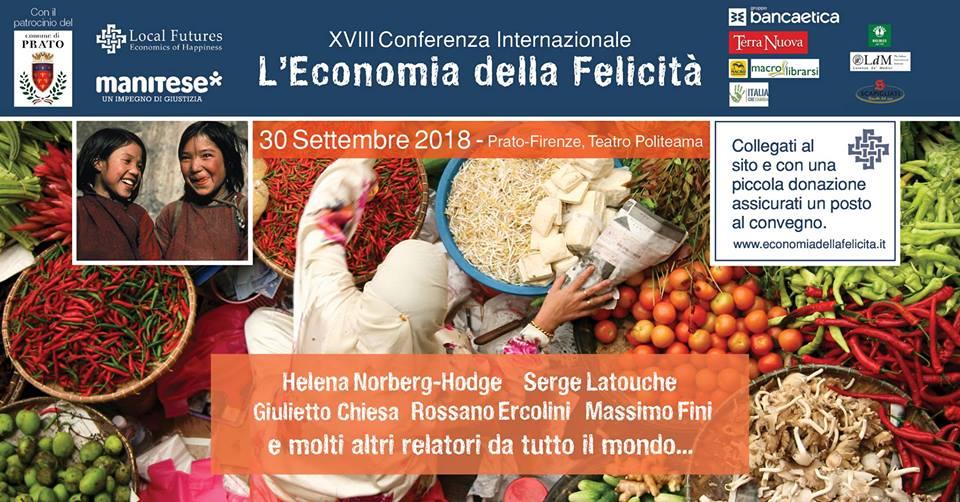 Conferenza Internazionale Economia della Felicità 2018