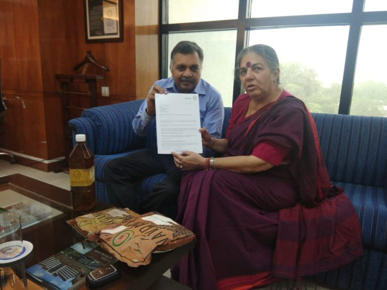 Navdanya's Letter to Fssai on Labelling Law