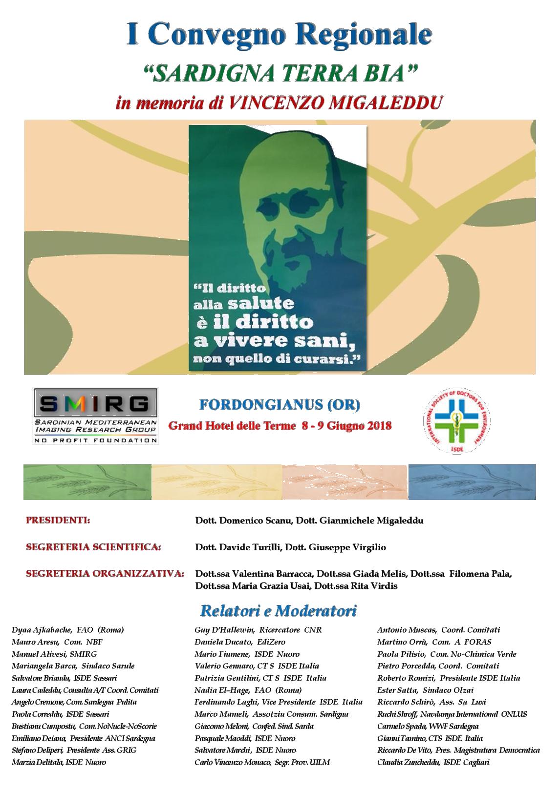 1° Convegno Regionale Sardigna Terra Bia
