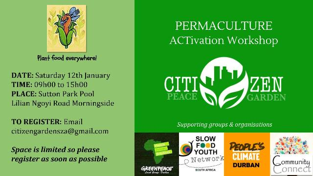 Permaculture ACTivation Workshop