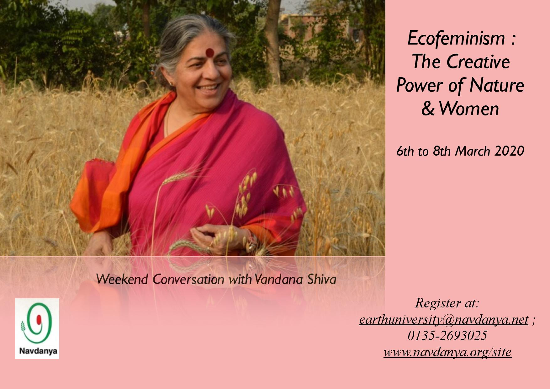 Ecofeminism: The Creative Power of Nature & Women