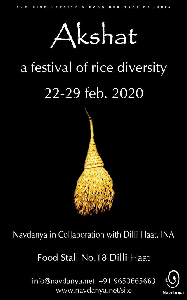Akshat: a festival of rice diversity