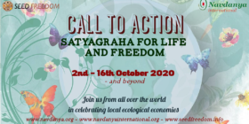 Call to Action 2020 – Satyagraha for Life and Freedom