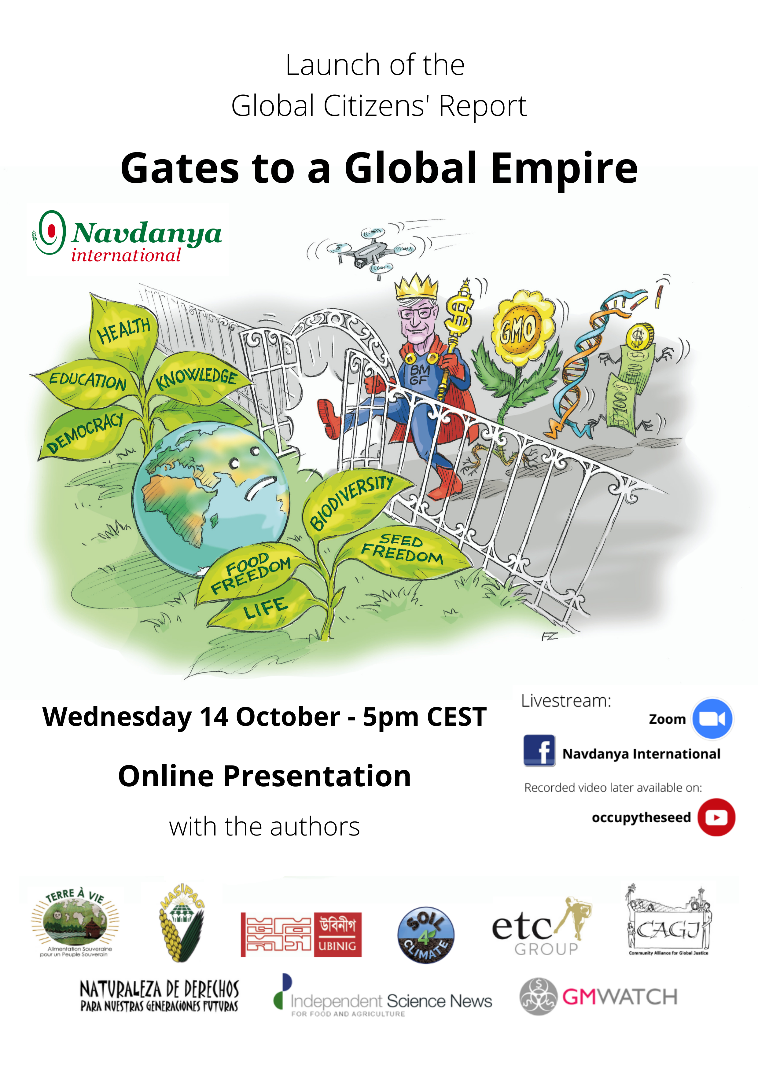 """""""Gates to a Global Empire"""" Report Launch and Online Conference"""